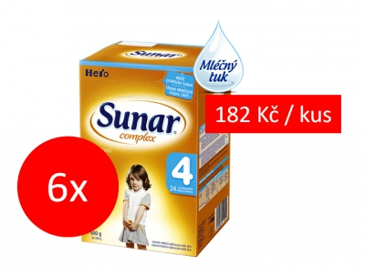 Sunar Complex 4 - 6x600g