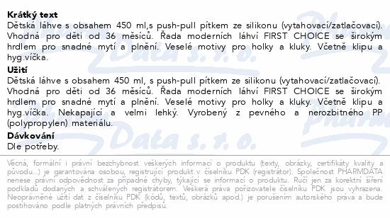 NUK FC Láhev PP SportsCup 450ml SI pushPull 750775
