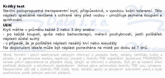URGO OPTISKIN Pooperační nápl.transp.10x7cm 10ks