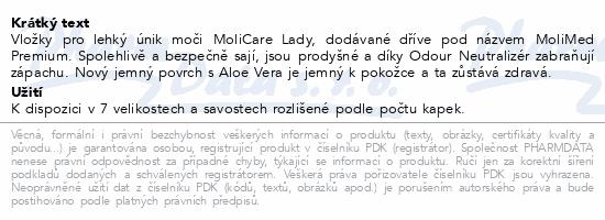 MoliCare Lady 4 kapky P14 (MoliMed midi plus)