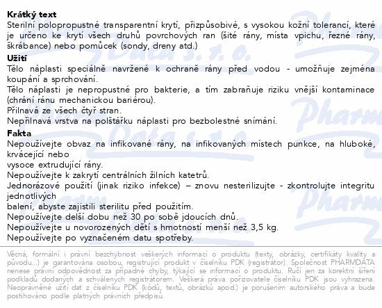 URGO OPTISKIN Pooperační nápl.transp.15x9cm 5ks