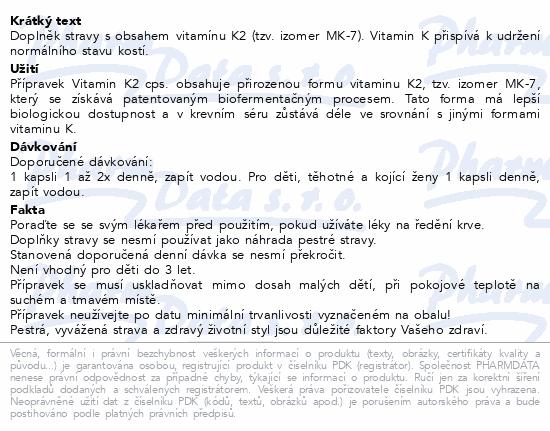 Vitamin K2 cps.90 Generica