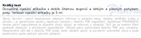 BD Discardit 2dílná Inj. stříkačka 5ml 100ks