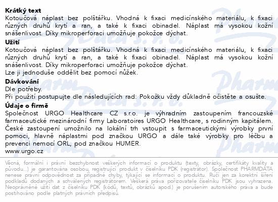 URGO FILM Transparentní náplast 5mx2.5cm