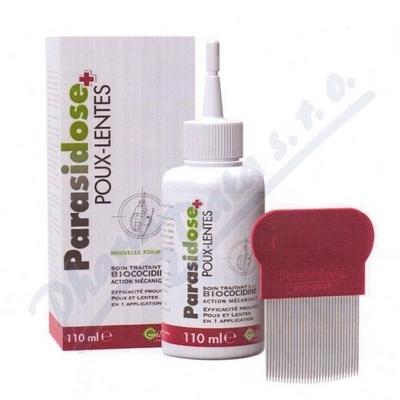 Parasidose Biococidin 45min 110ml + hřeben