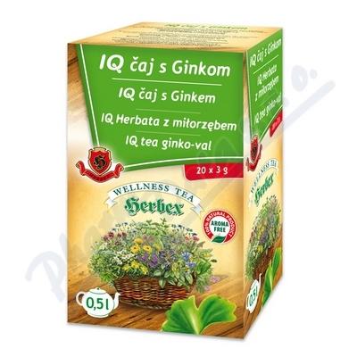 HERBEX IQ čaj s ginkem n.s.20x3g