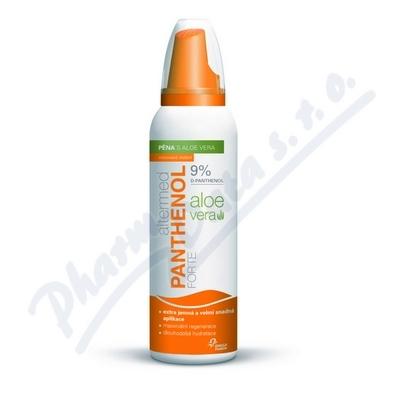 ALTERMED Panthenol Forte 9% pěna s Aloe Vera 150ml