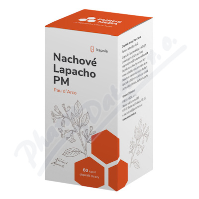 Nachové Lapacho PM (Pau dArco) cps.60