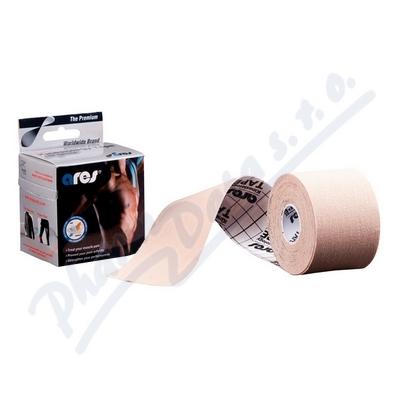 ARES kinesiology tape 5cm x 5m béžová