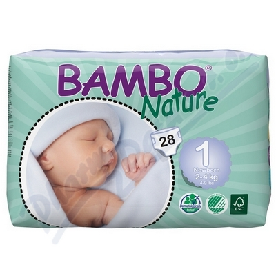 Bambo Nature New Born plen.k. 2-4kg 28ks