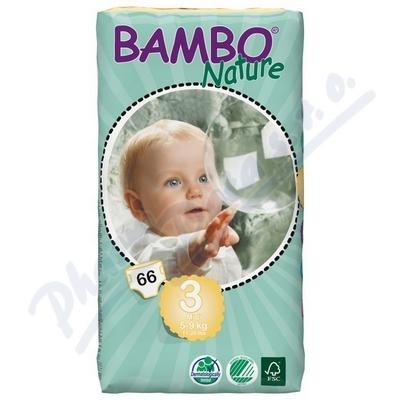 BAMBO Nature Midi plen.k. 5-9kg 66ks