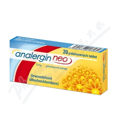 Analergin Neo 5mg por.tbl.flm.20x5mg