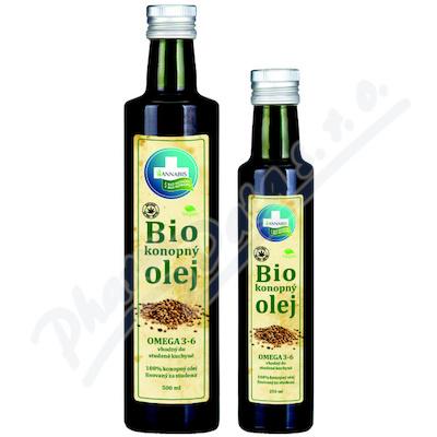 Annabis Konopný olej 100% BIO 250ml