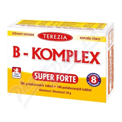 TEREZIA B-komplex Super Forte tbl.100