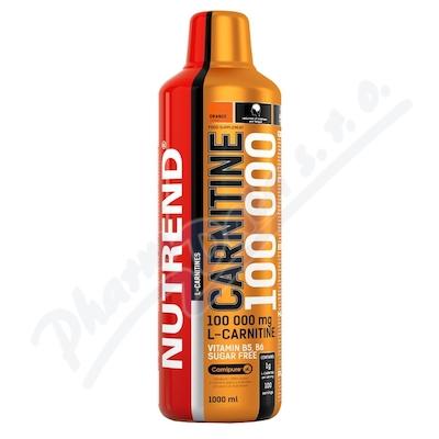 NUTREND Carnitine 100 000 pomeranč 1000ml