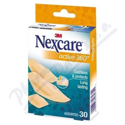 3M Nexcare Active 360° náplasti 30ks