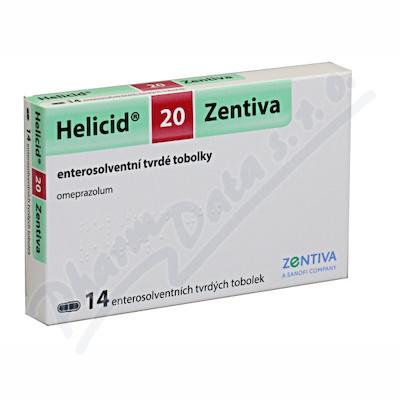 Helicid 20 Zentiva cps.etd.14x20mg