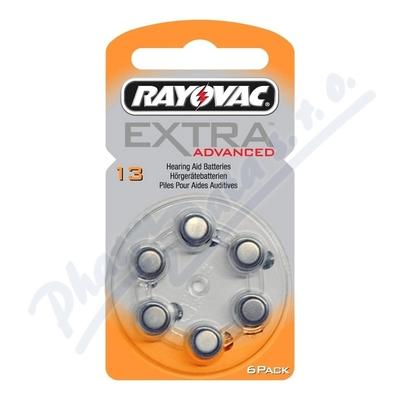 Rayovac Extra Adv.13 baterie do naslouchadel 6ks