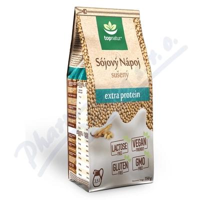 Sójový nápoj extra protein 350g TOPNATUR