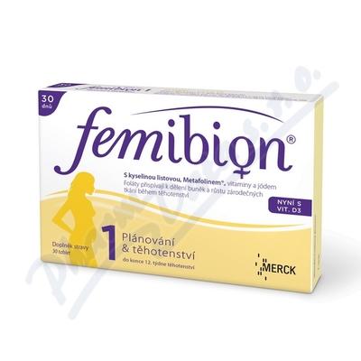 Femibion 1 s vit. D3 tbl.30