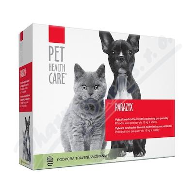 PET HEALTH CARE PARAZYX psi do 15kg a kočky tbl.22