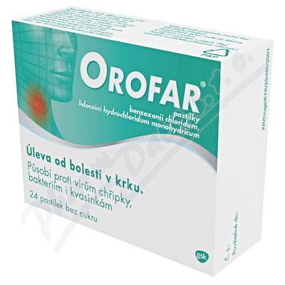 Orofar 1mg/1mg pas. 24 CZ