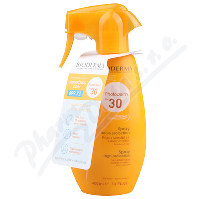 BIODERMA Photoderm Sprej SPF 30 400 ml