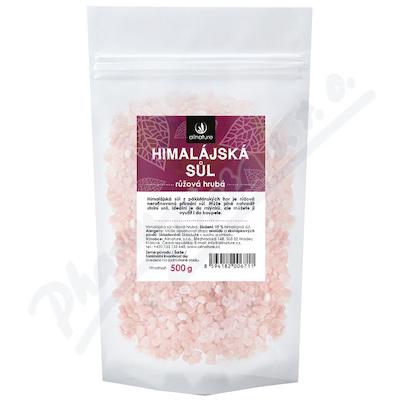 Allnature Himalájská sůl růžová hrubá 500g