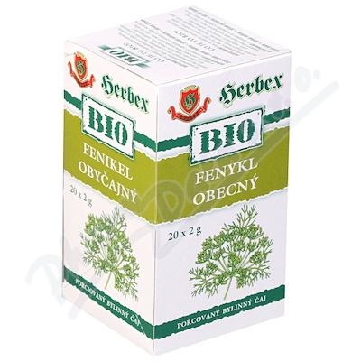 HERBEX BIO Fenykl obecný n.s.20x2g