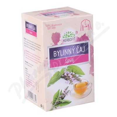 Herbofit Bylinný čaj šalvěj 20x1.5g