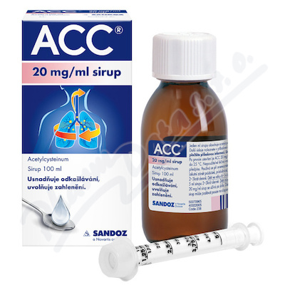 ACC 20mg/ml sir.1x100ml