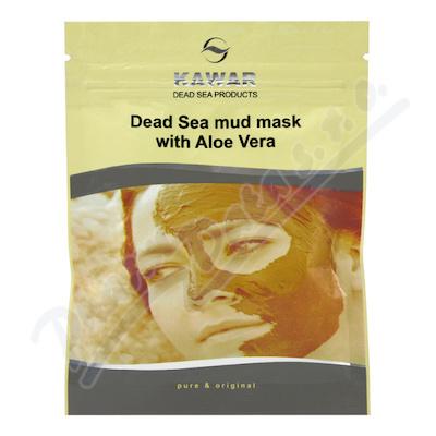 KAWAR Pleť.maska s aloe vera a miner.z Mr.moře 75g