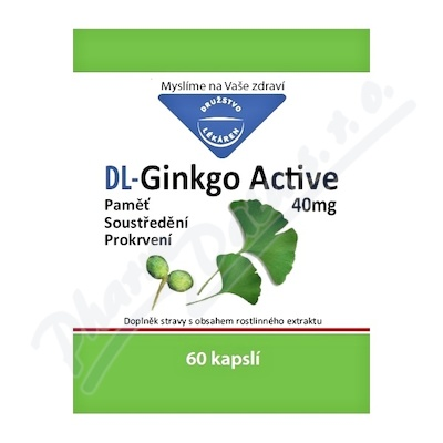 DL-Ginkgo Active 40mg cps.60