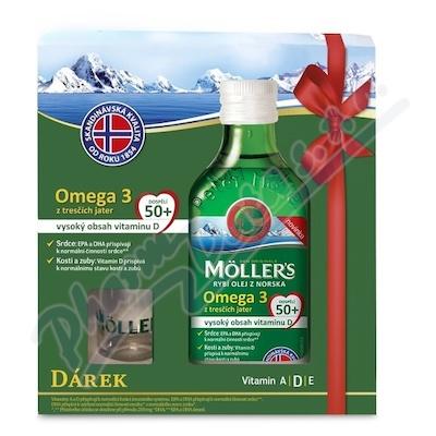 Mollers Omega 3 50+ 250ml dárkové balení 2018