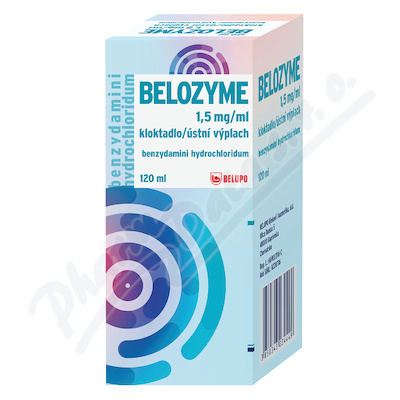 Belozyme 1.5mg/ml ggr/gng.aqa.120ml