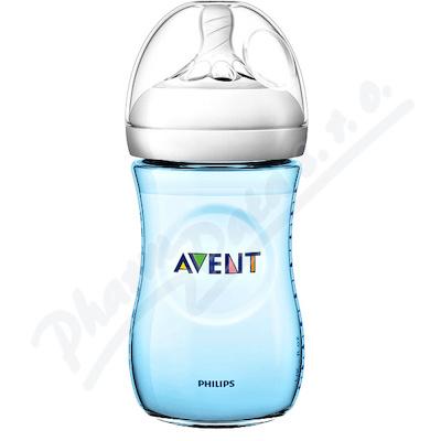 AVENT Láhev Natural 260ml modrá