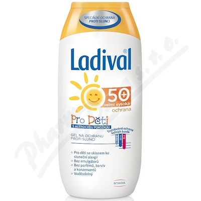 LADIVAL Děti ALERG OF50+ GEL 200ml