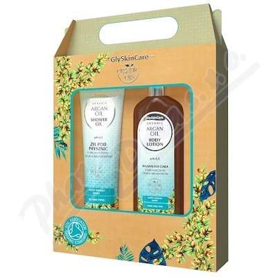 Biotter sada balzám+sprch.gel argan.olej 2x250ml