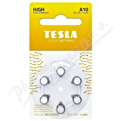TESLA BATTERIES A10 Hearing AID (PR70) 6ks