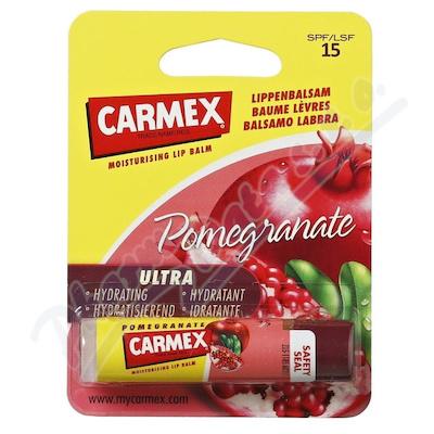 CARMEX Balzám na rty ultra hydr.SPF15 Granát.4.25g