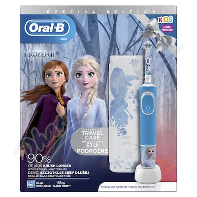 Oral-B El.kart. Vitality D100 dět.Frozen + pouzdro