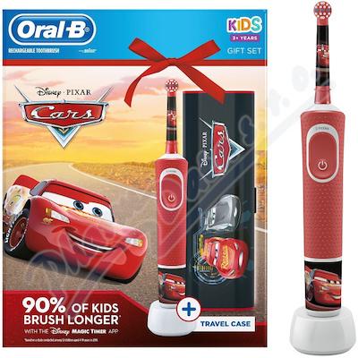 Oral-B Vitality Kids Cars + cestovní pouzdro