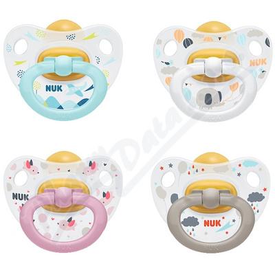 NUK Dudlík Happy Kids LA V2(6-18m) 1ks BOX 734017