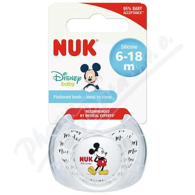 NUK Dudlík Mickey SI V2(6-18m)1ks BOX 736338