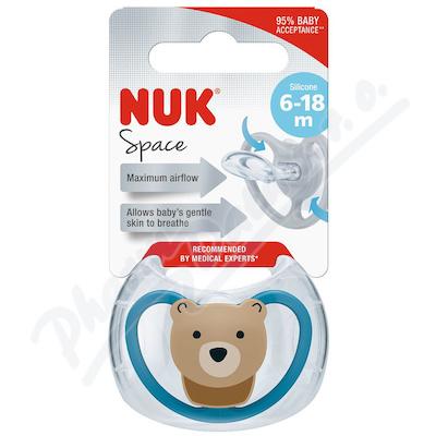 NUK Dudlík Space SI V2(6-18m) 1 ks BOX 736339