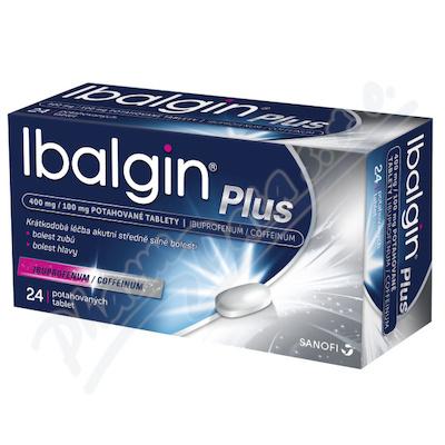 Ibalgin Plus 400mg/100mg tbl.flm.24
