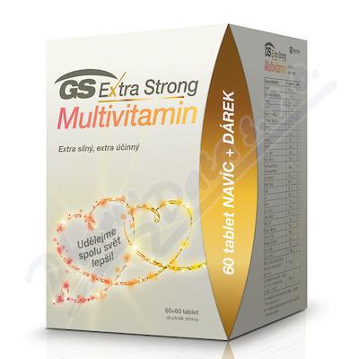 GS Extra Strong Multiv.tbl.60+60 dárek 2020 ČR/SK