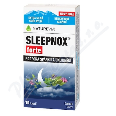 Swiss NatureVia Sleepnox forte cps.10