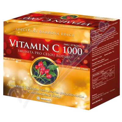 Vitamin C 1000 IMU-STRONG dárkové balení tbl.100