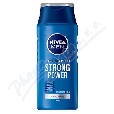 NIVEA Šampon muži STRONG POWER 250ml č.81423